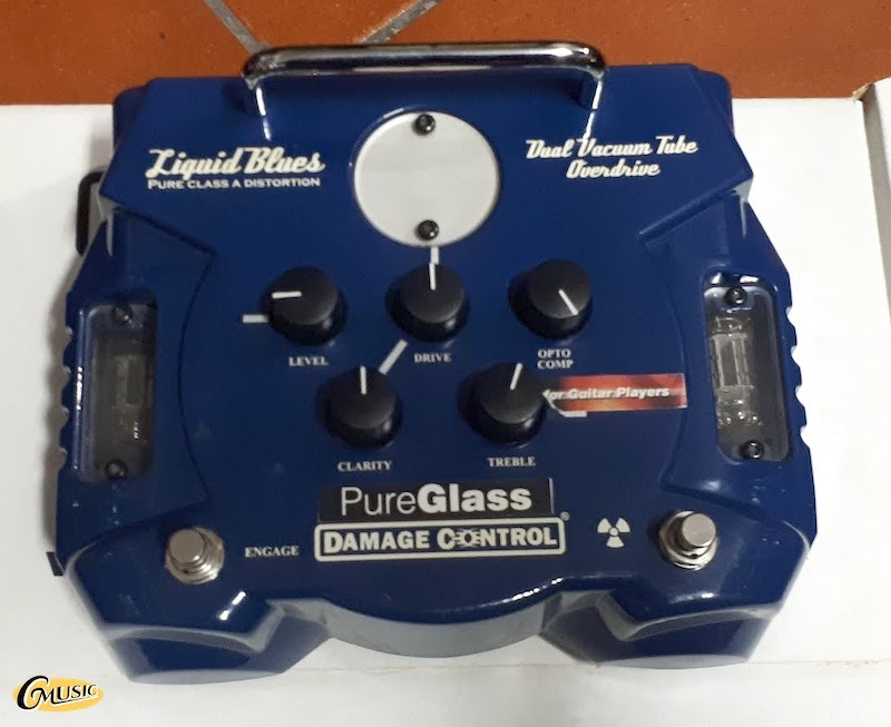 DAMAGE CONTROL LIQUID BLUES DUAL TUBE OVERDRIVE