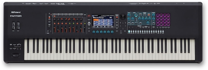 ROLAND FANTOM 6 SYNTHESIZER WORKSTATION