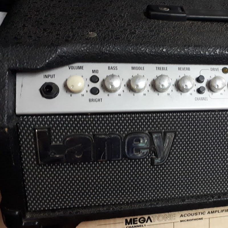 LANEY TF700 TUBE FUSION GUITAR AMP HEAD